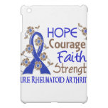 Hope Courage Faith Strength 3 Rheumatoid Arthritis iPad Mini Covers