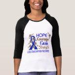 Hope Courage Faith Strength 3 Rheumatoid Arthritis T Shirt