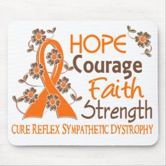 Hope Courage Faith Strength 3 RSD Mouse Pad