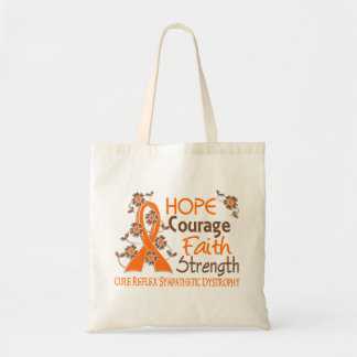 Hope Courage Faith Strength 3 RSD Tote Bag