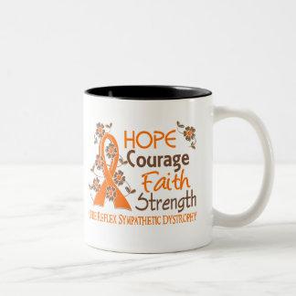 Hope Courage Faith Strength 3 RSD Two-Tone Coffee Mug