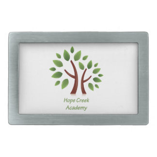 Hope Creek Academy Rectangular Belt Buckle
