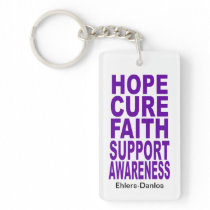 Hope Cure Awareness Keychains