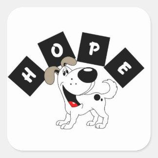 Hope (Cutie) Square Sticker