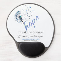 Hope Dandelion - Mental Illness - Gel Mousepad