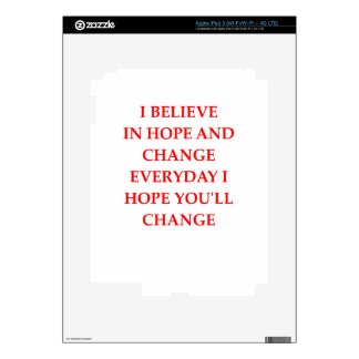 HOPE DECAL FOR iPad 3