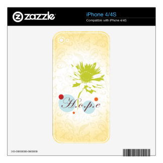 Hope Decals For The iPhone 4S