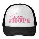 #hope del equipo gorros