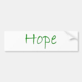 Hope Design Bumper Sticker