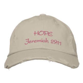 Hope Embroidered Hats