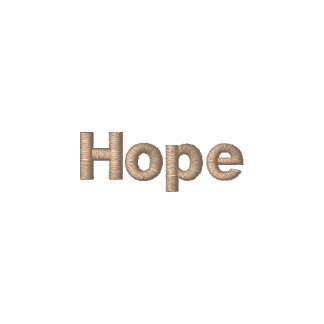 Hope Embroidered Polo Shirt