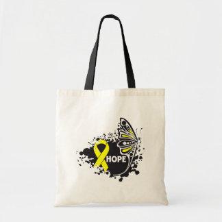 Hope Endometriosis Butterfly Budget Tote Bag