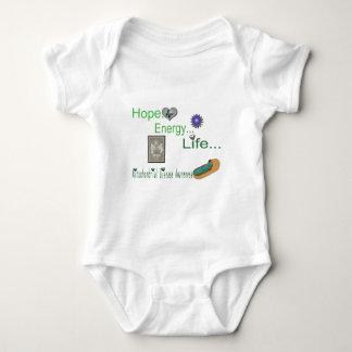 hope energy life mito baby bodysuit