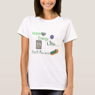 hope energy life mito T-Shirt