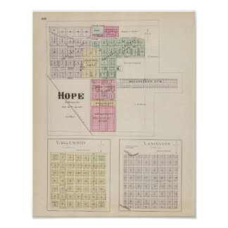 Hope, Englewood , Lexington, Kansas Poster