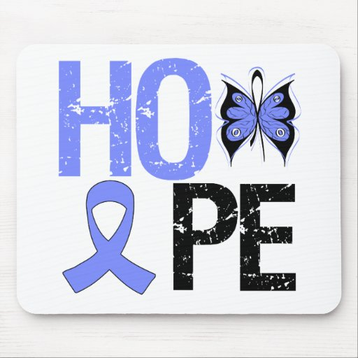 Hope Esophageal Cancer Awareness Mouse Mats