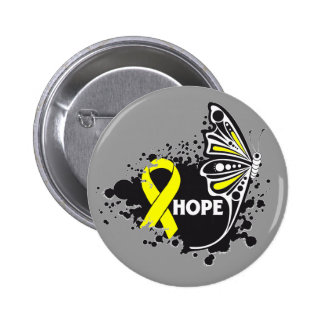 Hope Ewing Sarcoma Butterfly Button