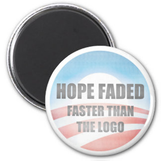 Hope Faded 2 Inch Round Magnet