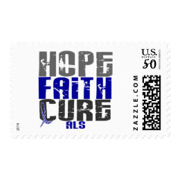 HOPE FAITH CURE ALS POSTAGE