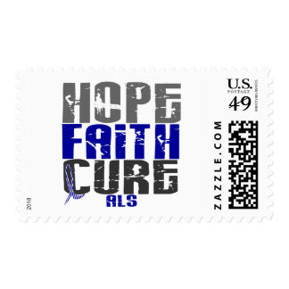 HOPE FAITH CURE ALS STAMPS