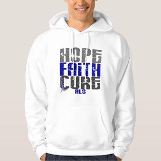 HOPE FAITH CURE ALS SWEATSHIRT