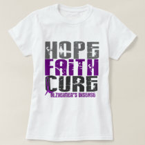 HOPE FAITH CURE ALZHEIMER'S DISEASE T-Shirt