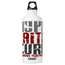 Hope Faith Cure Amyloidosis Aluminum Water Bottle