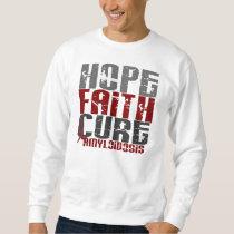 Hope Faith Cure Amyloidosis Sweatshirt