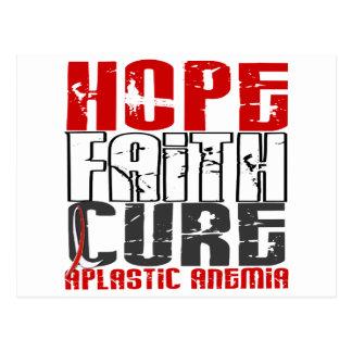 Hope Faith Cure Aplastic Anemia Postcard