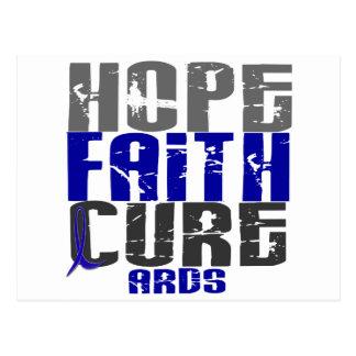 Hope Faith Cure ARDS Postcard