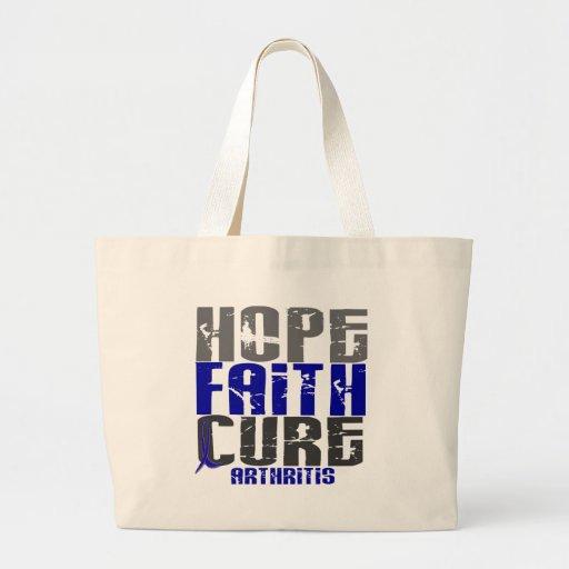 HOPE FAITH CURE ARTHRITIS T-Shirts & Apparel Canvas Bag
