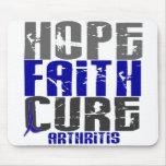 HOPE FAITH CURE ARTHRITIS T-Shirts & Apparel Mouse Pad