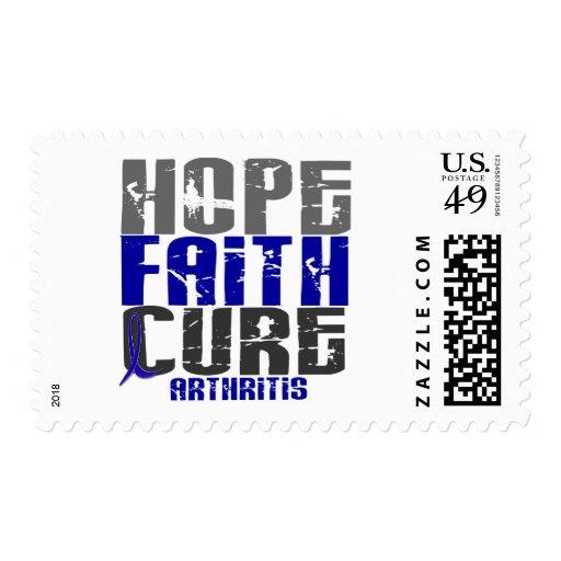 HOPE FAITH CURE ARTHRITIS T-Shirts & Apparel Postage