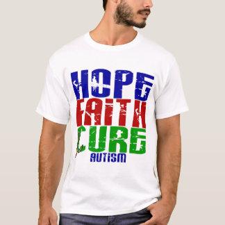 HOPE FAITH CURE AUTISM T-Shirt