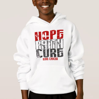 HOPE FAITH CURE BONE CANCER T-Shirts & Apparel
