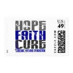 Hope Faith Cure CFS Chronic Fatigue Syndrome Postage Stamp