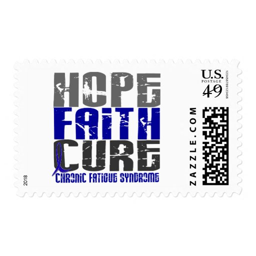 Hope Faith Cure CFS Chronic Fatigue Syndrome Postage