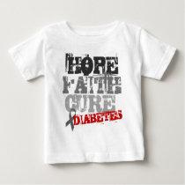 Hope. Faith. Cure. Diabetes Baby T-Shirt