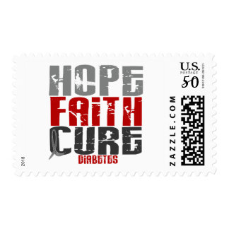 HOPE FAITH CURE DIABETES T-Shirts & Apparel Postage