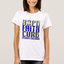 Hope Faith Cure Dysautonomia T-Shirt