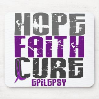 HOPE FAITH CURE EPILEPSY T-Shirts & Apparel Mouse Pad