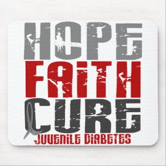 Hope Faith Cure Juvenile Diabetes Mouse Pad