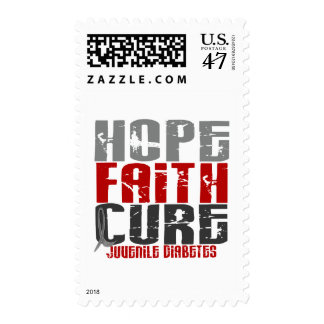 Hope Faith Cure Juvenile Diabetes Postage