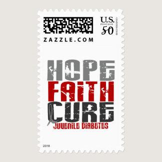 Hope Faith Cure Juvenile Diabetes Postage