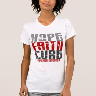 Hope Faith Cure Juvenile Diabetes T-Shirt