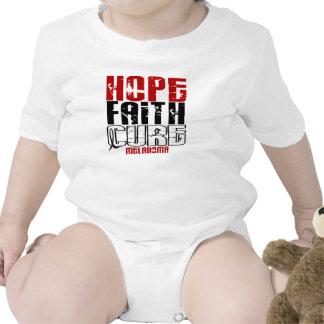 HOPE FAITH CURE MELANOMA BABY BODYSUIT