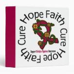 Hope Faith Cure Multiple Myeloma Awareness Binder