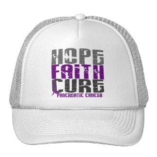 HOPE FAITH CURE PANCREATIC CANCER HAT