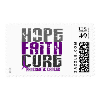 HOPE FAITH CURE PANCREATIC CANCER T-Shirts Postage