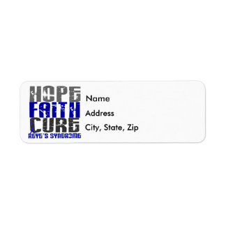 Hope Faith Cure Reye's Syndrome Label